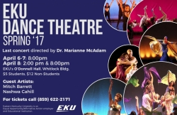 EKU Dance Theater 2017 - Spring Concert -- Tickets Available Now!